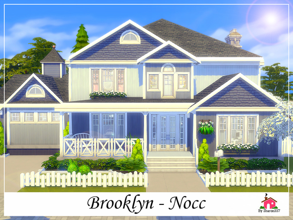 Sims 4 Brooklyn family home by sharon337 at TSR