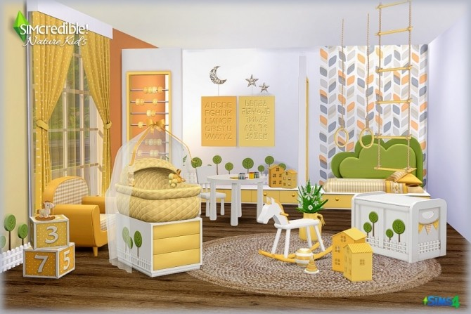 NATURE KIDS room (Pay) at SIMcredible! Designs 4 image 1306 670x447 Sims 4 Updates