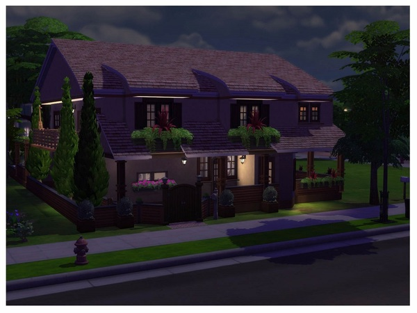 With Some Rustic 2 storey building by RightHearted at TSR image 13102 Sims 4 Updates