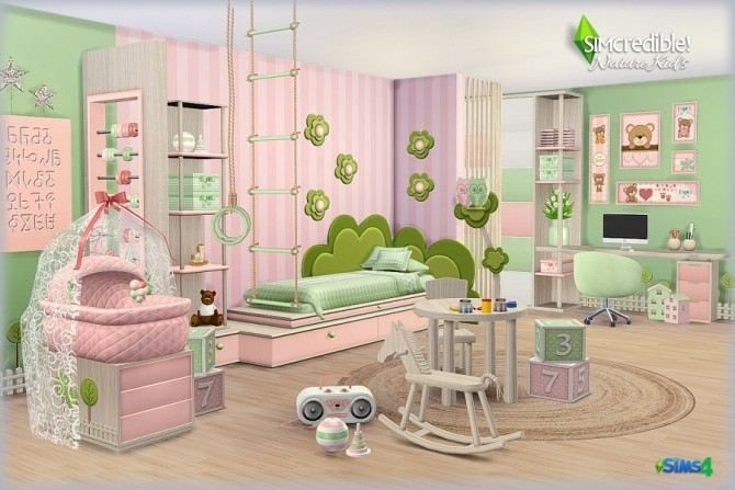 NATURE KIDS room (Pay) at SIMcredible! Designs 4 image 13112 670x447 Sims 4 Updates