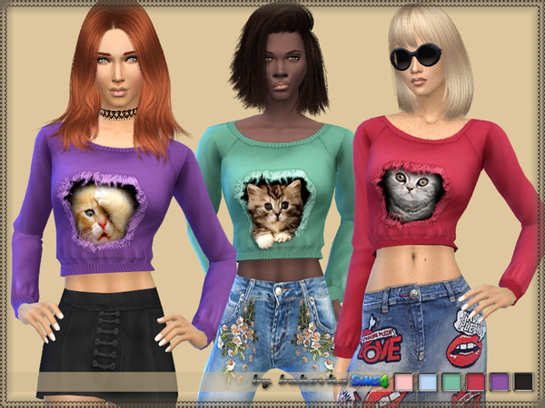 Sims 4 Top Cats in the Heart by bukovka at TSR