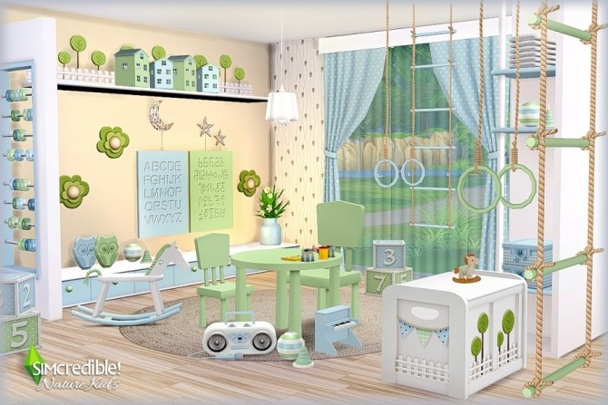 NATURE KIDS room (Pay) at SIMcredible! Designs 4 image 13210 670x447 Sims 4 Updates