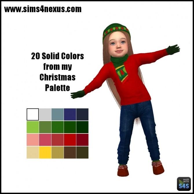 Christmas Character Shirts by SamanthaGump at Sims 4 Nexus image 13215 670x670 Sims 4 Updates