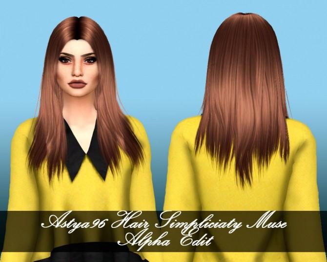239fc720c Simpliciaty Hair Muse Alpha Edit at Astya96 » Sims 4 Updates