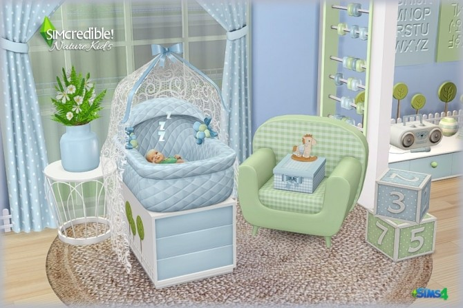 NATURE KIDS room (Pay) at SIMcredible! Designs 4 image 1337 670x447 Sims 4 Updates