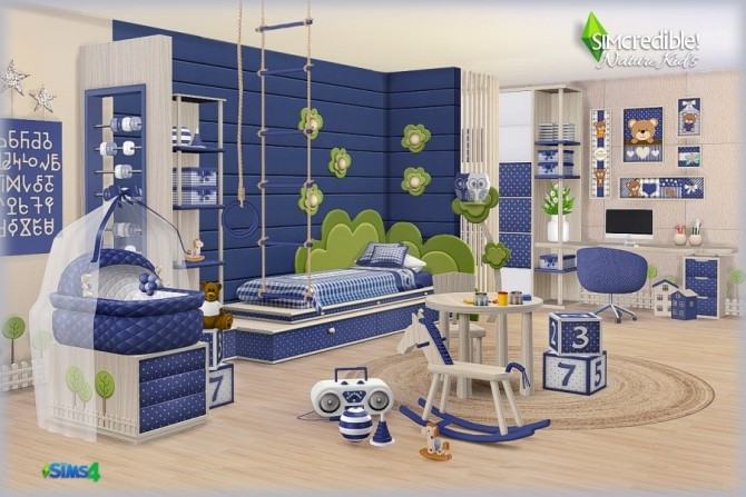 NATURE KIDS room (Pay) at SIMcredible! Designs 4 image 1347 670x447 Sims 4 Updates