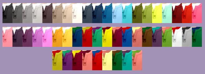 EP04 Henley Shirt Recolors at Tukete image 13710 Sims 4 Updates