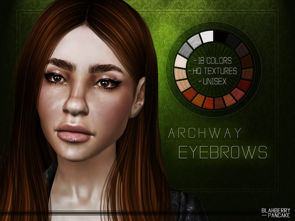 Archway Eyebrows by Blahberry Pancake at TSR image 1412 Sims 4 Updates
