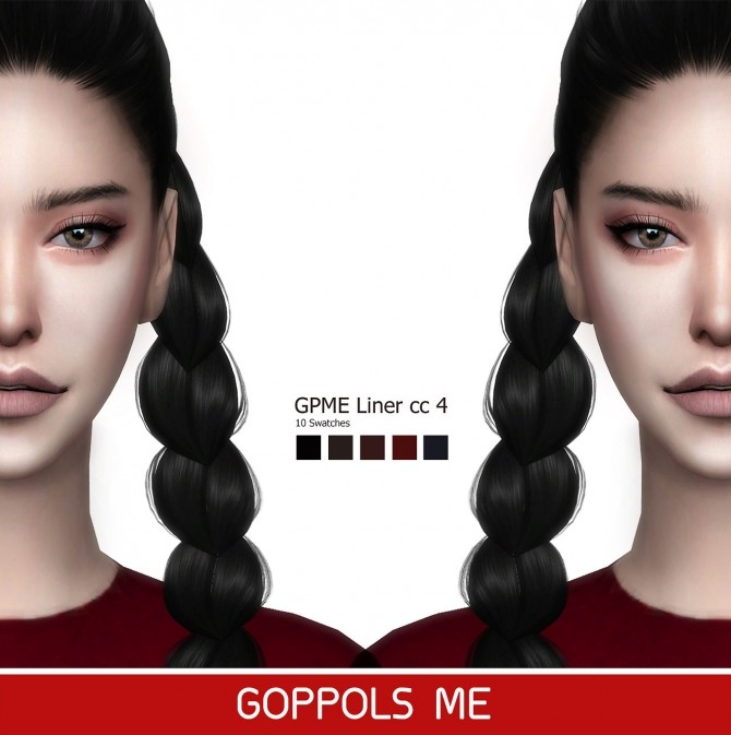 GPME Liner cc 4 at GOPPOLS Me image 1431 670x673 Sims 4 Updates