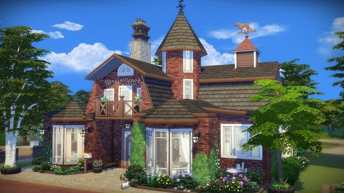 Cats & Dogs House at Frau Engel image 1433 670x377 Sims 4 Updates