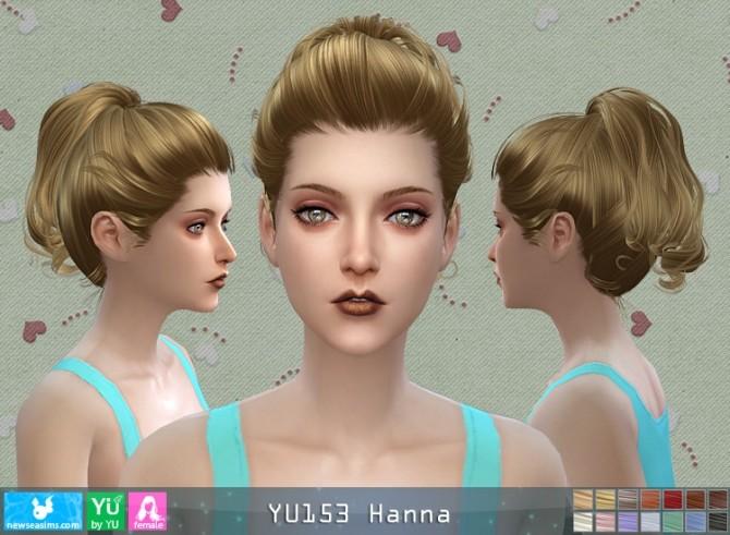 Sims 4 YU153 Hanna hair (Pay) at Newsea Sims 4