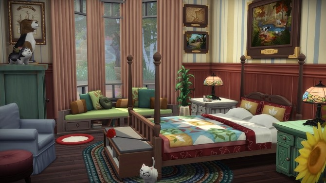 Sims 4 Cats & Dogs House at Frau Engel