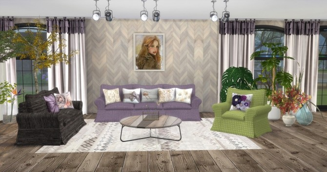 Sims 4 Autum Bliss Livingroom by Ilona at My little The Sims 3 World