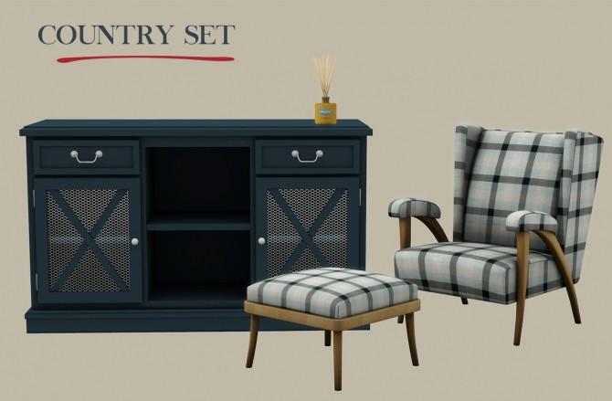 Sims 4 Country Set (P) at Leo Sims