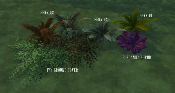 Ghoulish & Ghastly Vampire Pack Plants and Trees unlocked at Simsational Designs image 1541 670x355 Sims 4 Updates