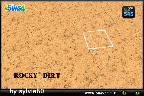 Rocky Dirt by sylvia60 at Blacky's Sims Zoo image 1544 Sims 4 Updates