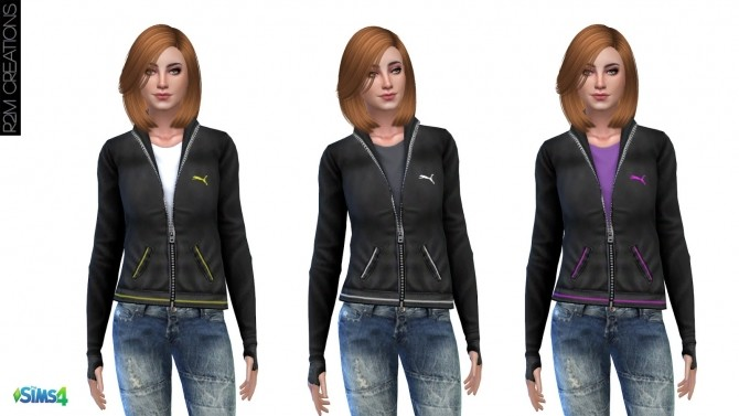Sporty hoodie for women at R2M Creations image 1562 670x377 Sims 4 Updates