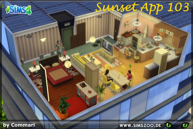 Sunset App 103 by Commari at Blacky's Sims Zoo image 1564 Sims 4 Updates
