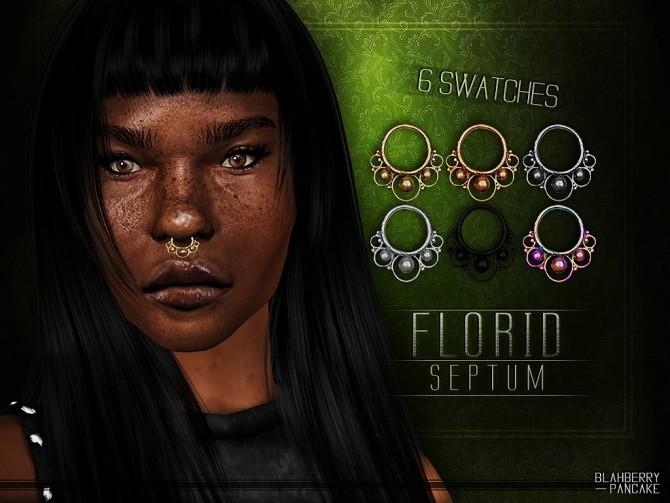 Sims 4 Florid septum at Blahberry Pancake