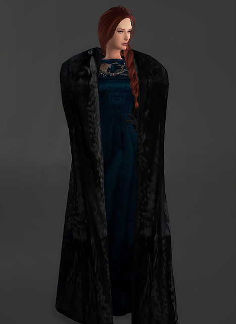 Wardeness of the North outfit Sansa Stark at Magnolian Farewell image 1589 Sims 4 Updates