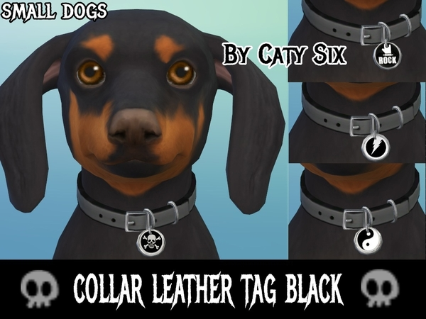 Sims 4 Collar for small dogs by CatySix at TSR