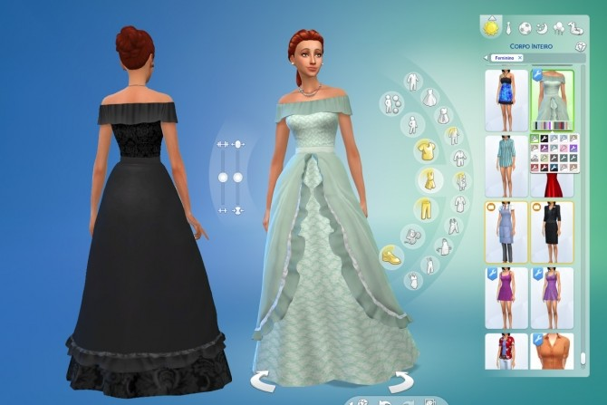 Fairy Tale Dress At My Stuff 187 Sims 4 Updates