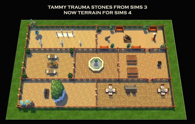 7 Stone Terrains from Sims 3 by Simmiller at Mod The Sims image 17112 670x429 Sims 4 Updates