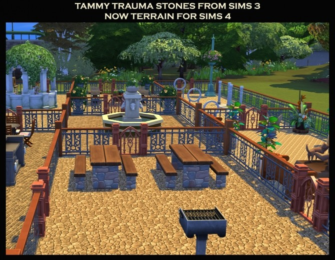 7 Stone Terrains from Sims 3 by Simmiller at Mod The Sims image 1736 670x521 Sims 4 Updates