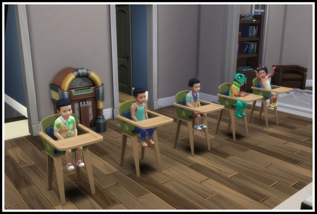 Sims 4 Longer Sit in High Chair at LittleMsSam