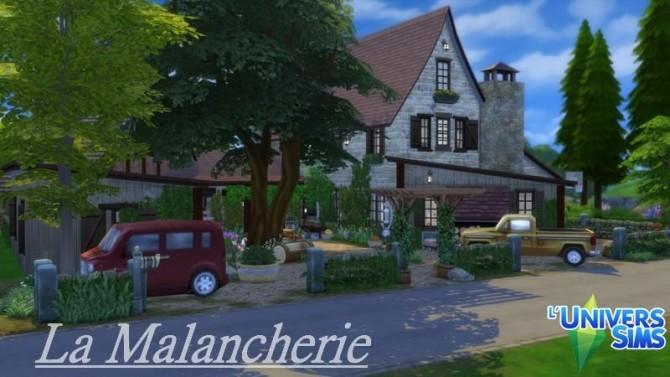 La Malancherie house by chipie cyrano at L'UniverSims image 1752 670x377 Sims 4 Updates