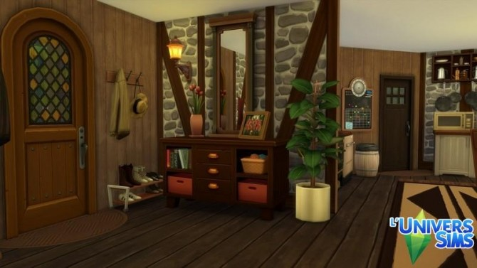 La Malancherie house by chipie cyrano at L'UniverSims image 1782 670x377 Sims 4 Updates