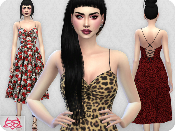 Claudia dress RECOLOR 8 by Colores Urbanos at TSR image 1813 Sims 4 Updates