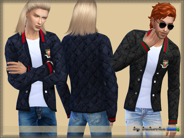 Jacket Guc by bukovka at TSR image 1819 Sims 4 Updates
