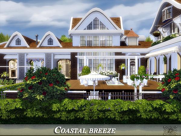 Sims 4 Coastal breeze house by Danuta720 at TSR