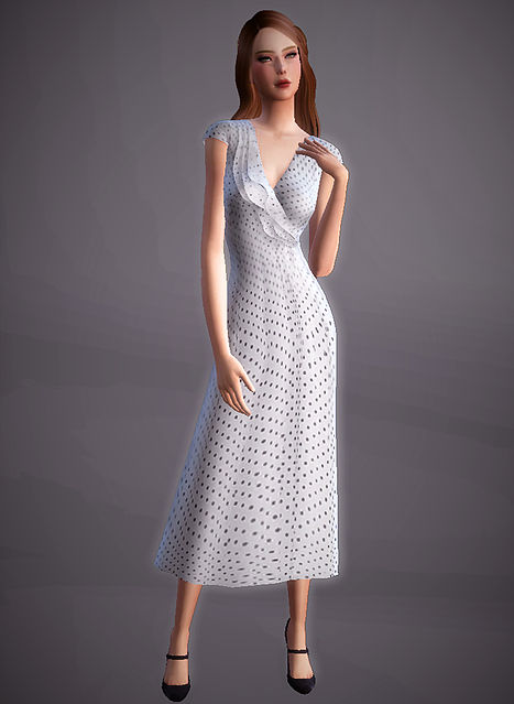 Vintage Tea Dress at Magnolian Farewell image 1867 Sims 4 Updates