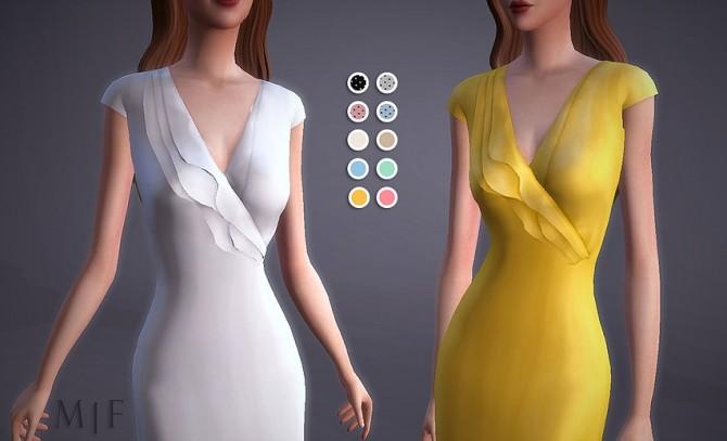 Sims 4 Vintage Tea Dress at Magnolian Farewell