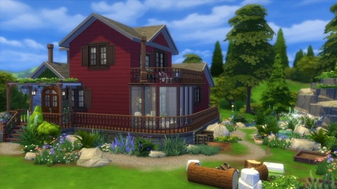 Chalet neo cottage by SundaySims at Sims Artists image 1892 670x377 Sims 4 Updates