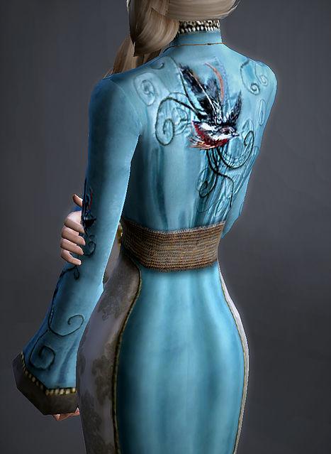 Sims 4 Bluebird Gown Cersei Lannsiter at Magnolian Farewell