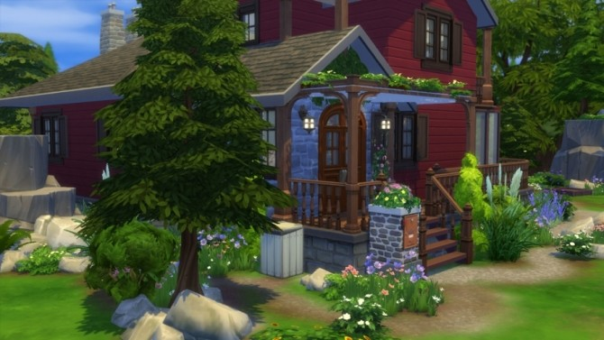 Chalet neo cottage by SundaySims at Sims Artists image 1902 670x377 Sims 4 Updates