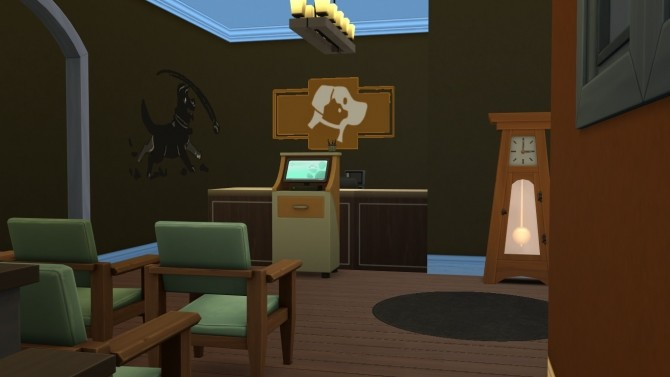 Sims 4 Mini Vet Clinic by iSandor at Mod The Sims