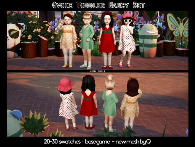 Sims 4 Nancy Set T at qvoix – escaping reality