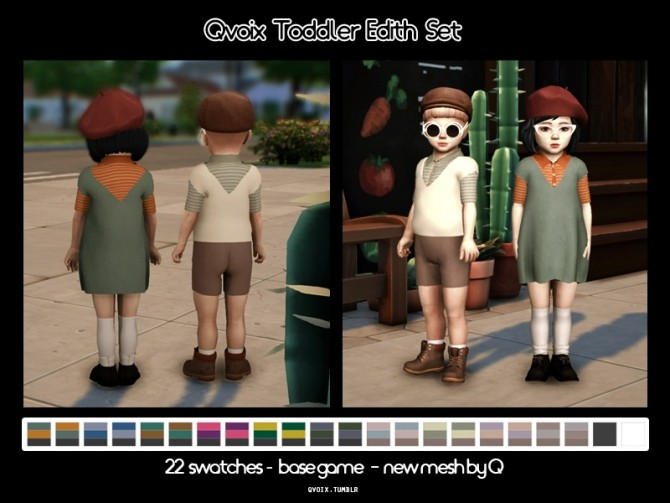Sims 4 Edith Set T at qvoix – escaping reality
