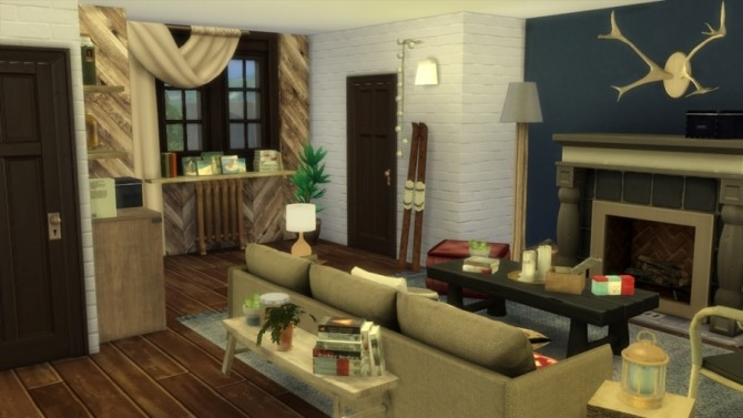 Chalet neo cottage by SundaySims at Sims Artists image 1921 670x377 Sims 4 Updates