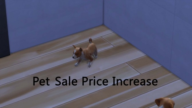 Sims 4 Pet Sale Price Increase by pd1ds at Mod The Sims