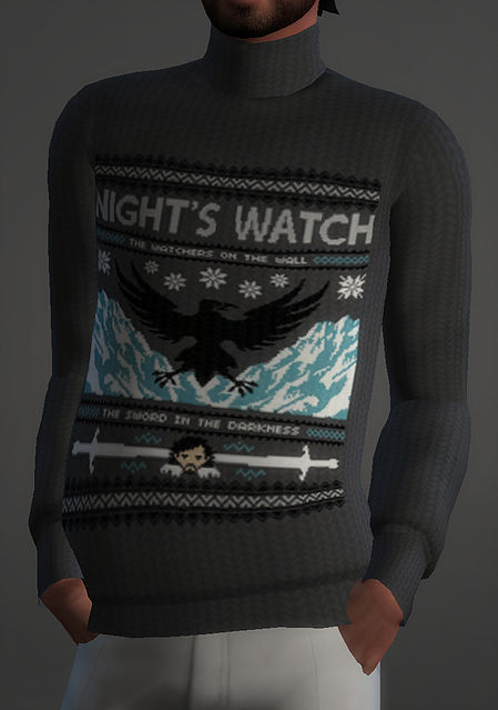 Sims 4 Game Of Thrones Christmas Sweaters at Magnolian Farewell
