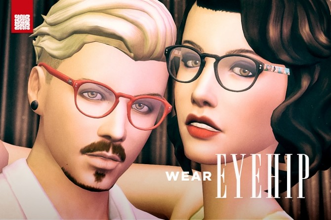 EyeHip Hipster Eyeglasses by Brainstrip at Mod The Sims image 2003 670x446 Sims 4 Updates