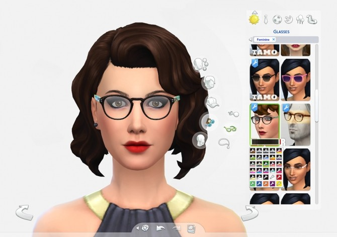 EyeHip Hipster Eyeglasses by Brainstrip at Mod The Sims image 20112 670x471 Sims 4 Updates