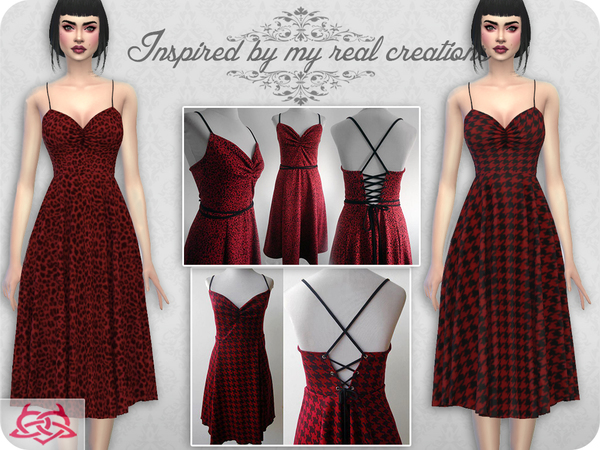Claudia dress RECOLOR 8 by Colores Urbanos at TSR image 2013 Sims 4 Updates