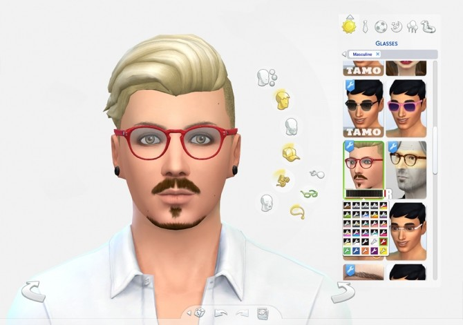 EyeHip Hipster Eyeglasses by Brainstrip at Mod The Sims image 2025 670x471 Sims 4 Updates