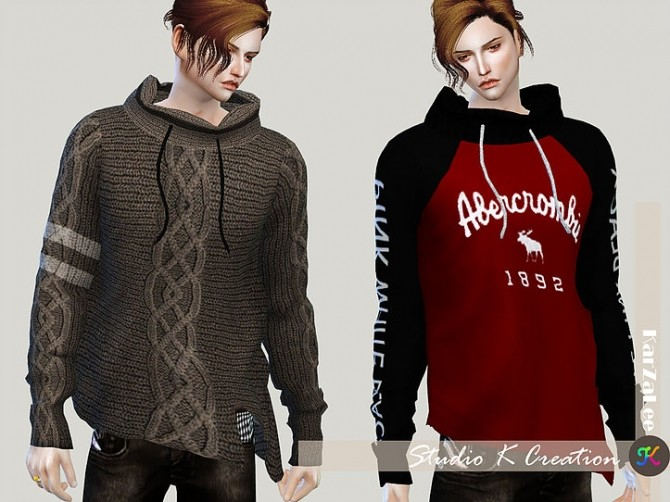 Sims 4 Giruto 39 Turtleneck Sweater at Studio K Creation